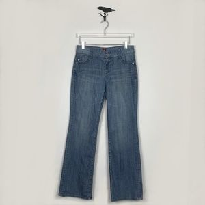 Sasson Retro Style Boot Cut Boogie Jeans